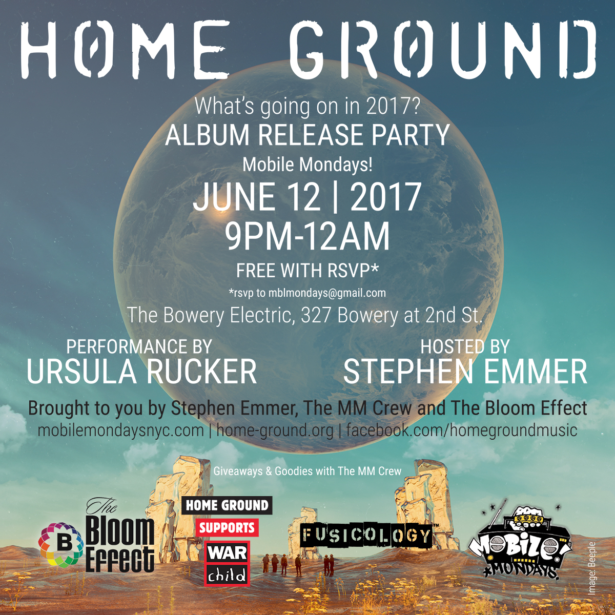 Stephen Emmer presents Home Ground in New York