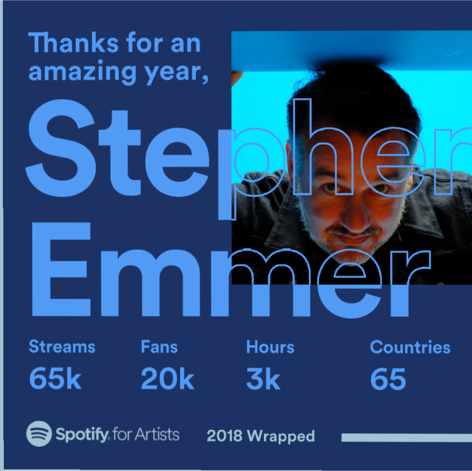 Spotify 2018 wrap up.